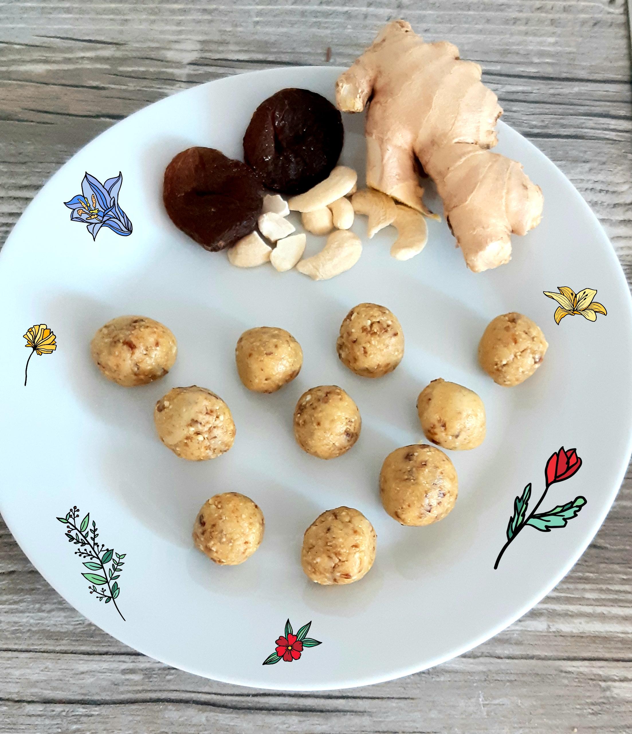 Cashew-Trockenaprikose-Nascherei